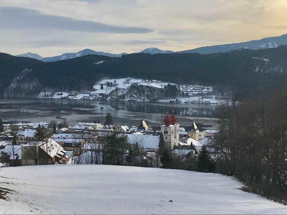 Winter am Millstätter See in Kärnten - Familienurlaub im Kinderhotel Post