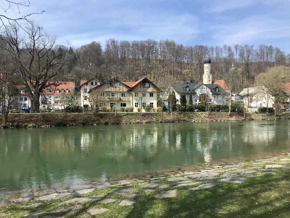 Auf den Spuren der Flößer durch die Altstadt Wolfratshausen - danach zurück nach Geretsried