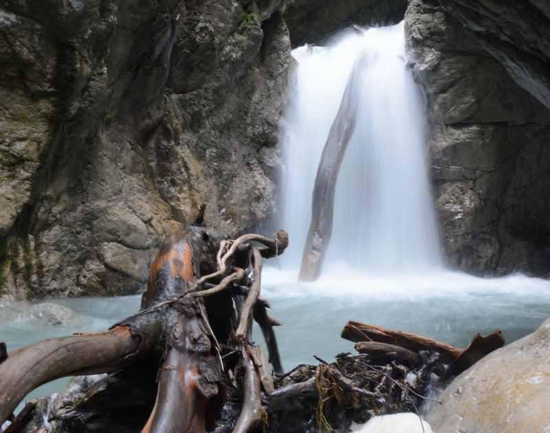 Regenwetter Ausflugsziele: Wasserfälle haben bei Regen besonders viel Wasser!