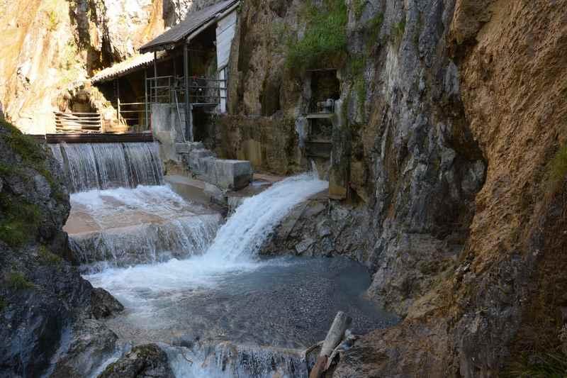Am Ende des Zammer Lochputz in Tirol