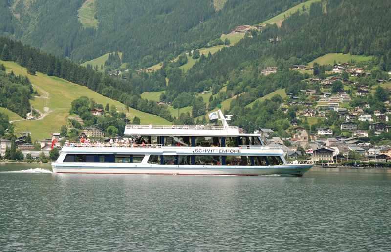 Zell am See Schifffahrt - Ausflug mit Kindern über den See