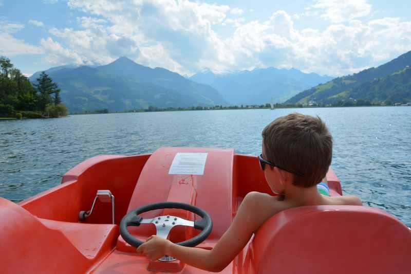 Zell am See baden - traumhaft schön.