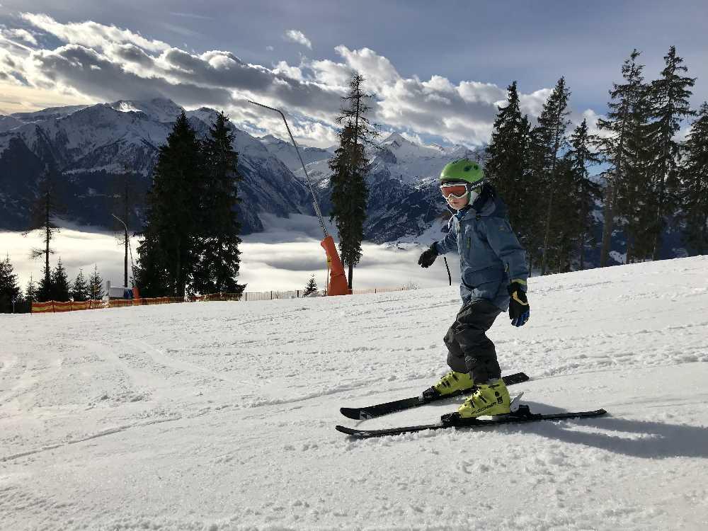 Skigebiet Schmittenhöhe: Skifahren in Zell am See mit Kindern - so schön war es auf der Schmitten
