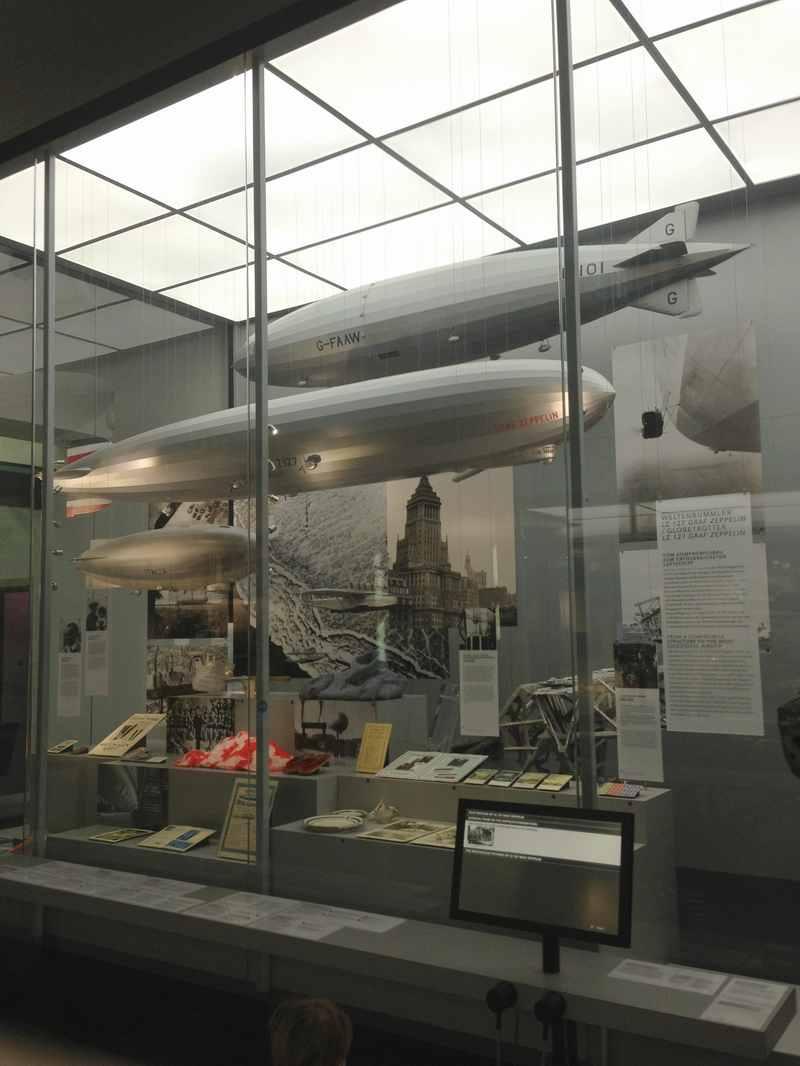 Modelle im Zeppelin Museum Friedrichshafen