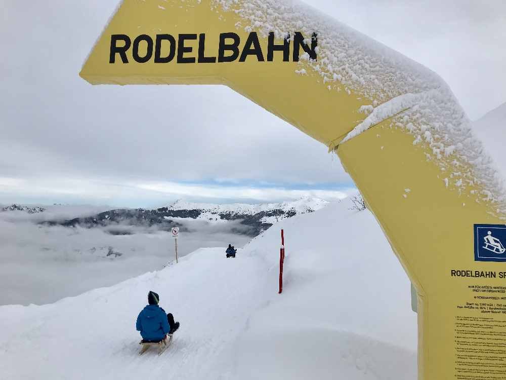 Hier startet die Spieljoch Rodelbahn im Zillertal