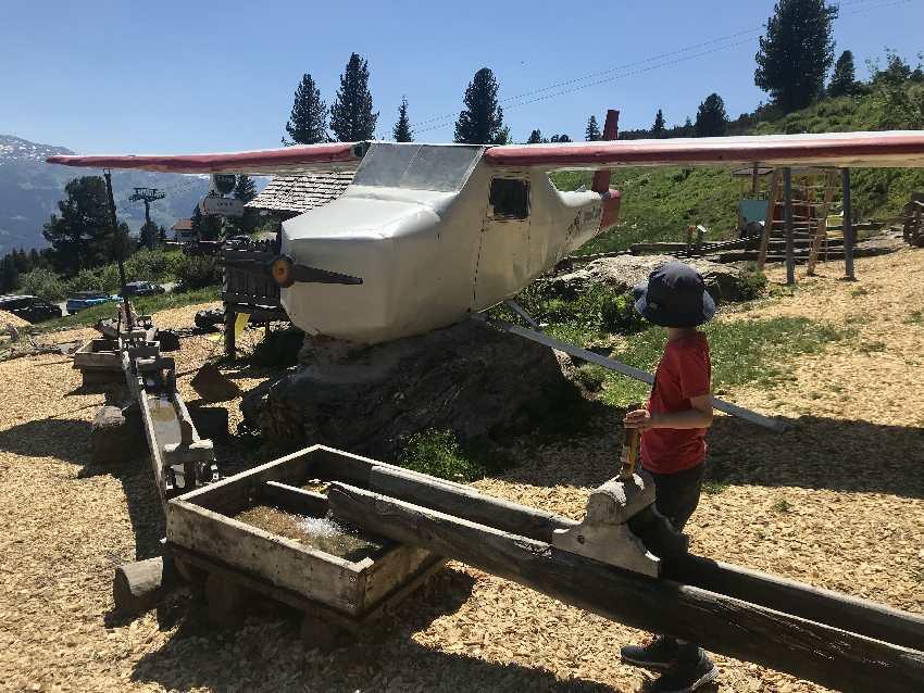 Murmelland Zillertal - der einzige Zillertal Spielplatz mit Flugzeug und Wasserspielplatz!