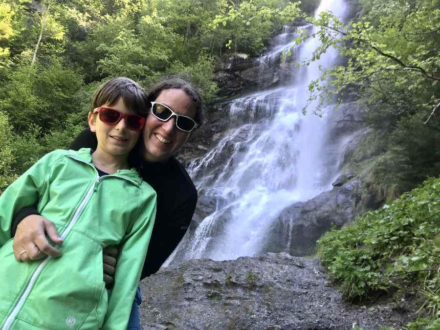 Der Schleierfall im Zillertal: Höchster Zillertal Wasserfall, schöne Wanderung mit Kindern
