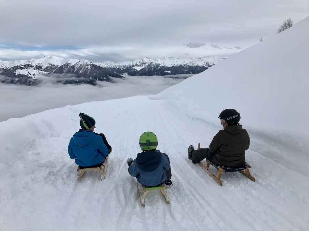 Rodeln Zillertal - das sind die schönsten Rodelbahnen im Zillertal in Tirol