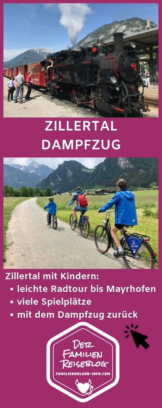 Zillertalbahn Dampfzug - Merk dir unsere Tipps für deinen nächsten Zillertal Ausflug mit diesem Pin auf Pinterest