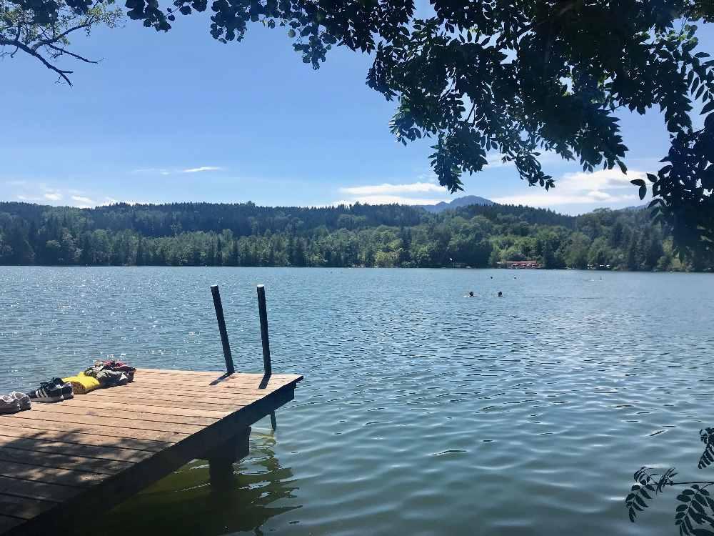 Baden am Chiemsee mit Kindern - oder in einem der vielen kleineren Seen rundherum!
