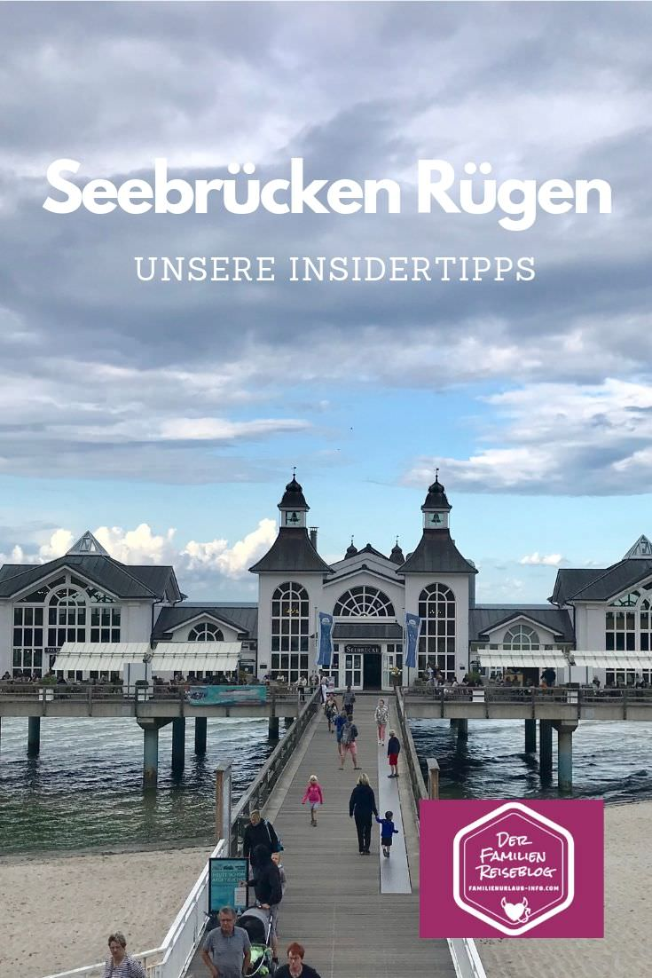 Merk dir gleich diesen Pin auf Pinterest - so findest du die schönsten Seebrücken Rügen schnell wieder bei deiner Urlaubsplanung! Sie sind die Top Ausflugsziele Rügen.