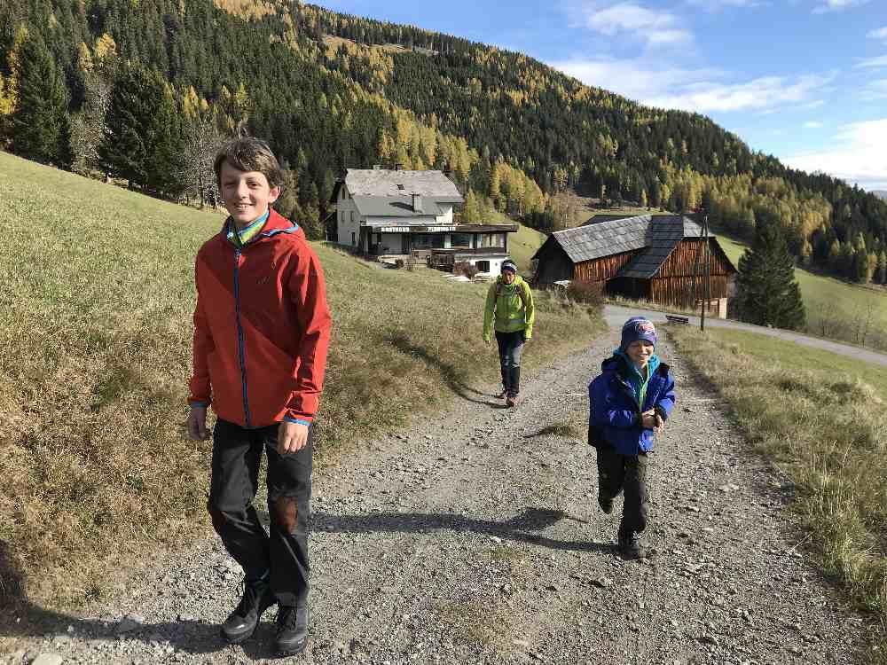 Bad Kleinkirchheim wandern mit Kindern ist schön!