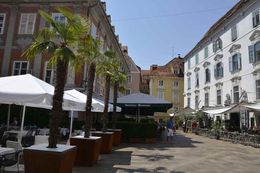 südländisches Flair mitten in Graz auf dem Mehlplatz