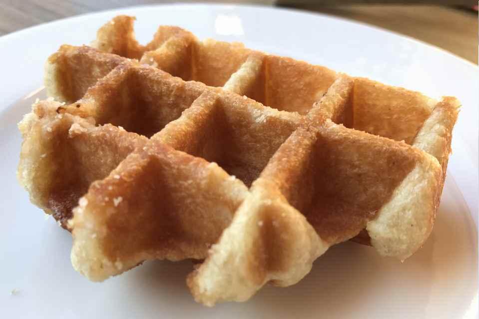 Die leckeren Waffeln waren besonders begehrt beim süßen Frühstück in Annaberg