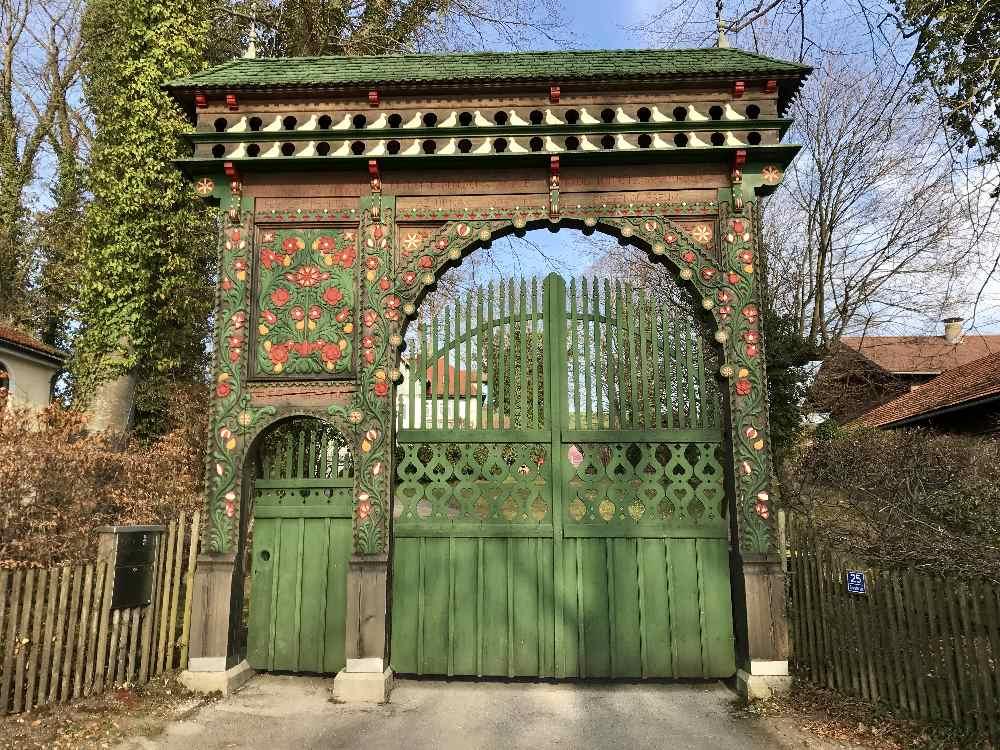 Wie im Märchen: Das Ungarische Tor in Ambach