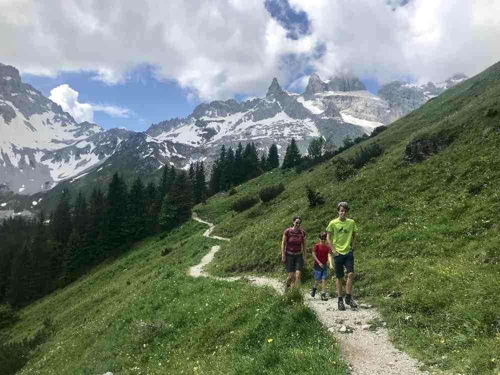 Wandern Vorarlberg mit Kindern - hier unsere besten Touren!