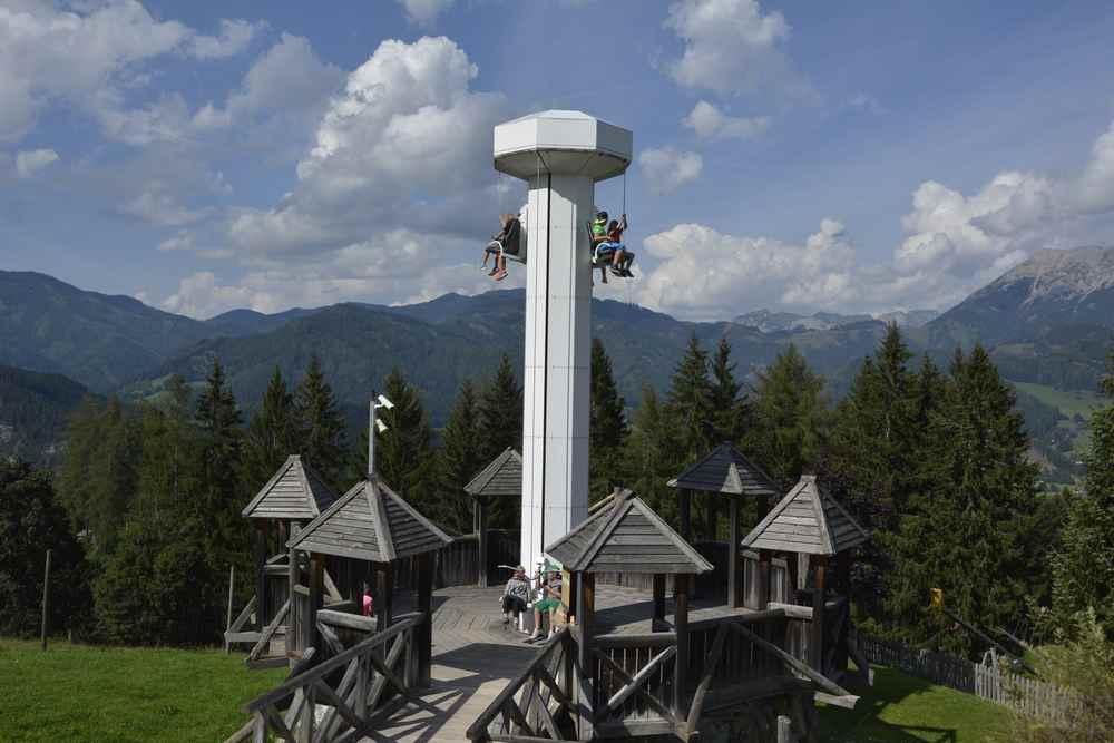 Ausflugsziele Steiermark mit Kindern - Das ist eine der Attraktionen beim Ausflug auf den wilden Berg in Mautern