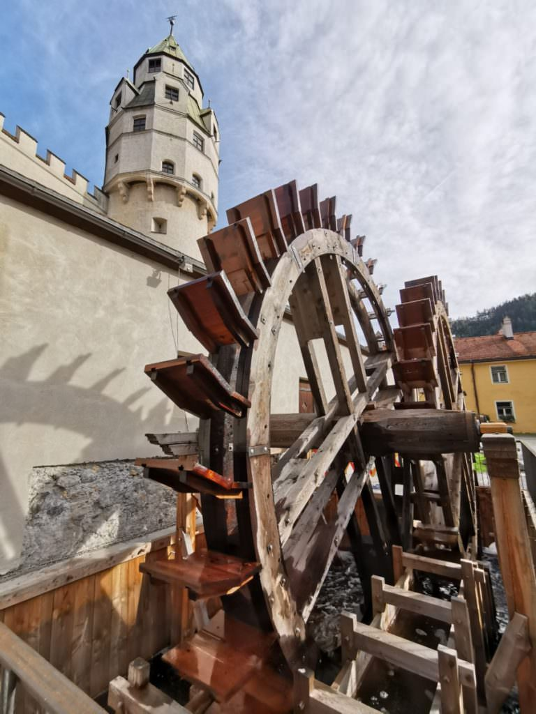Imposant und sehenswert: Die Münze in der Burg Hasegg