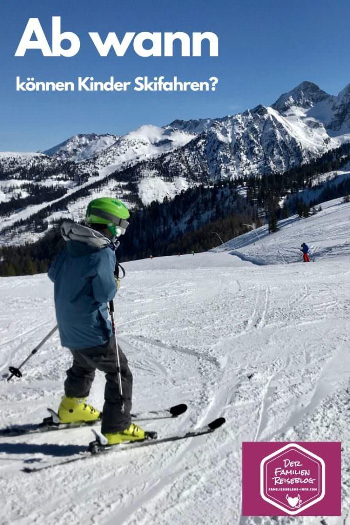 Ab wann können Kinder Skifahren lernen? - unser Ratgeber aufgrund eigener Erfahrungen