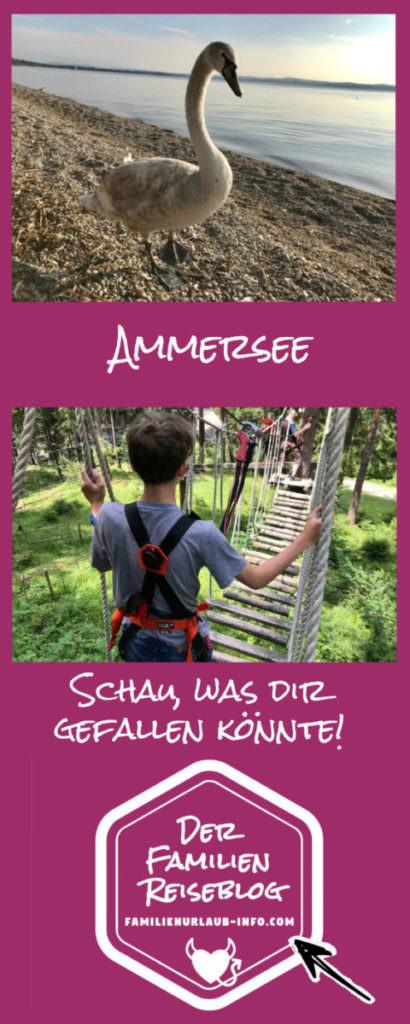 Ammersee mit Kindern Tipps merken für den nächsten Bayern Ausflug mit Kindern