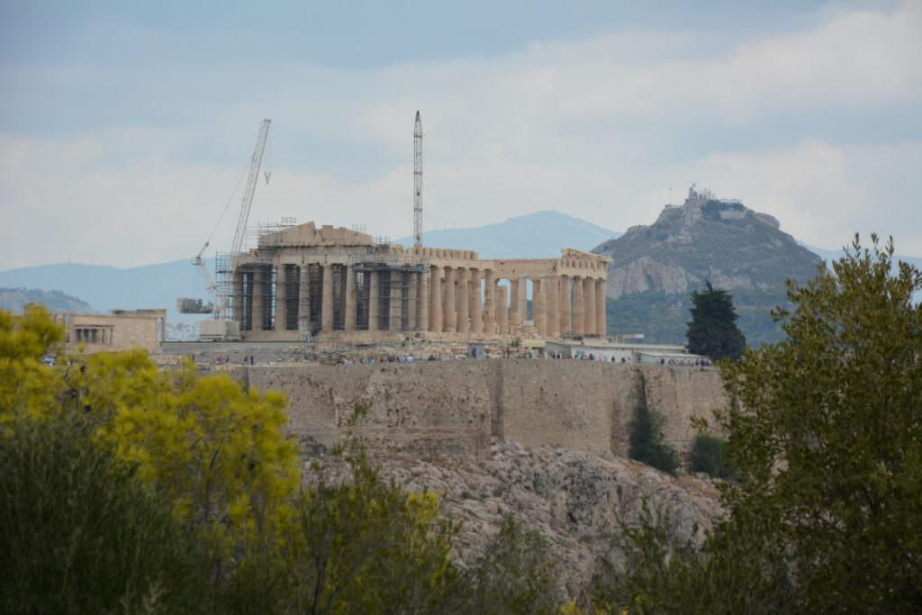 Athen Akropolis mit Kindern: Blick vom Filopappos
