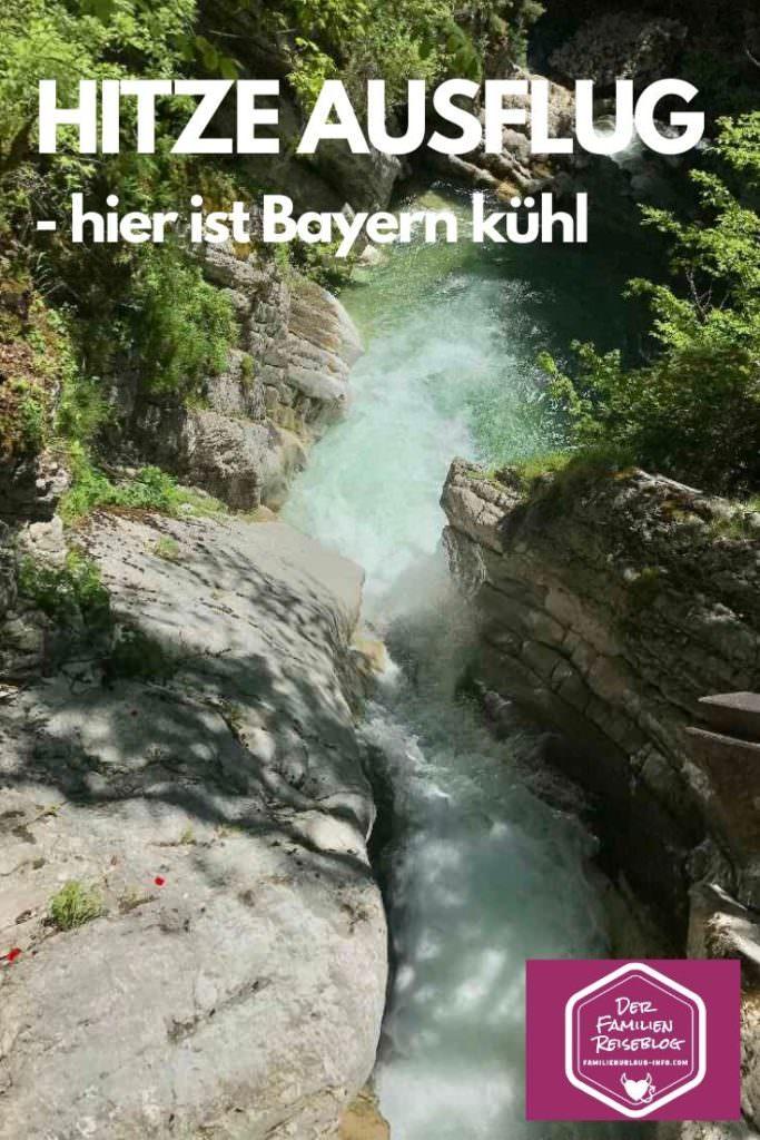 Ausflüge bei Hitze Bayern