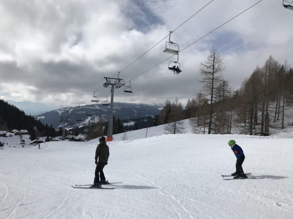 Bad Kleinkirchheim Skigebiet mit Kindern - wir haben die Pisten ausprobiert