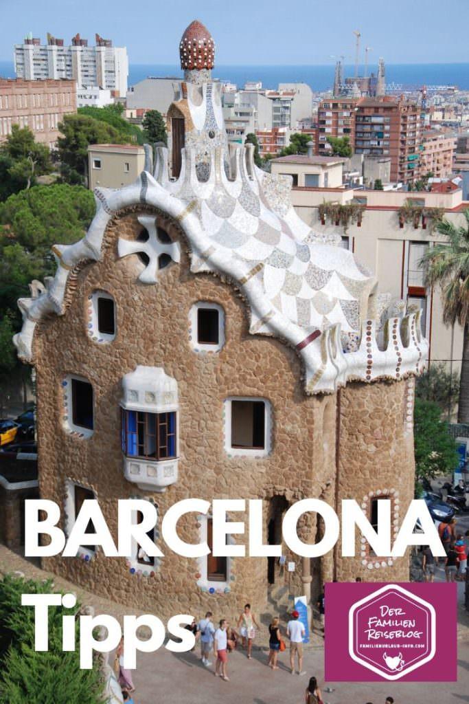 Barcelona mit Kindern - Parc Guell muss sein! Merk dir diesen Pin auf Pinterest für deinen Familienurlaub in Barcelona