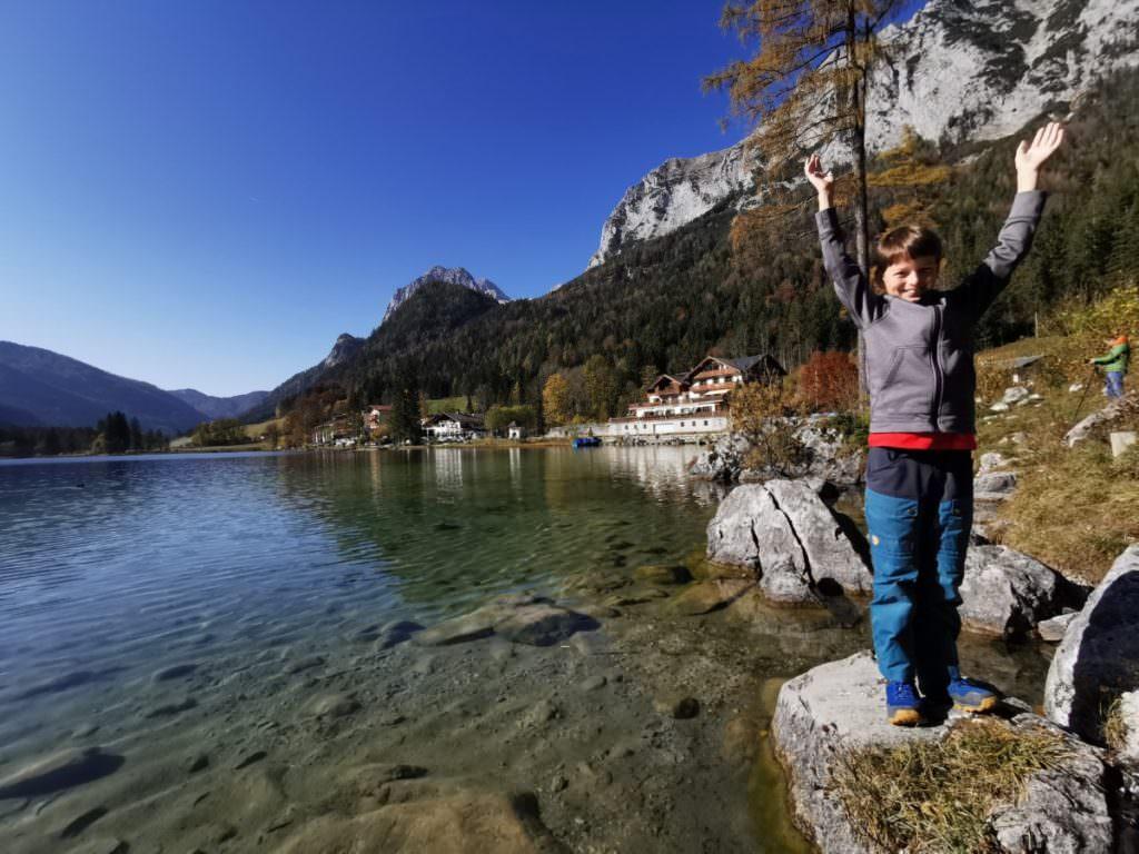 Berchtesgaden wandern mit Kindern - hier waren wir am Hintersee