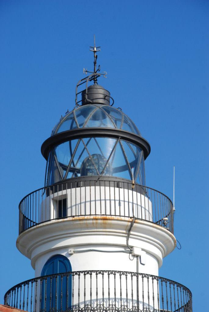 Calella Sehenswürdigkeiten: Der Leuchtturm