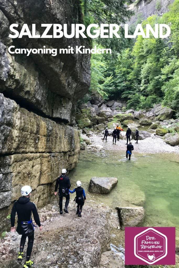 Canyoning Salzburg - merk dir diesen Pin auf Pinterest, damit du diesen Tipp wieder findest!