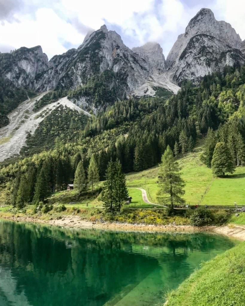 Dachsteingebirge wandern mit Kindern