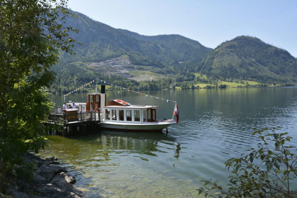 Drei Seen Tour - Steiermark wandern mit Kindern und Schiff fahren!
