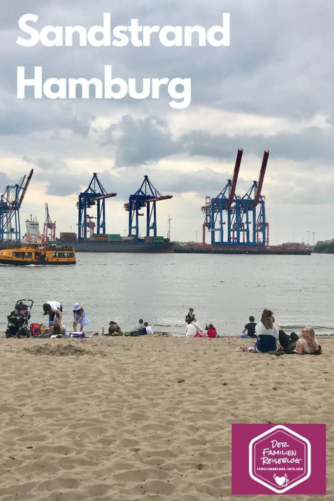 Elbstrand - unser Tag am Strand in Hamburg mit Kindern