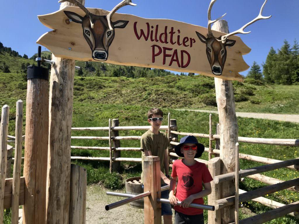Fügen Kaltenbach: Der Wildtierpfad ist hier auch für deinen Ausflug im Zillertal mit Kindern
