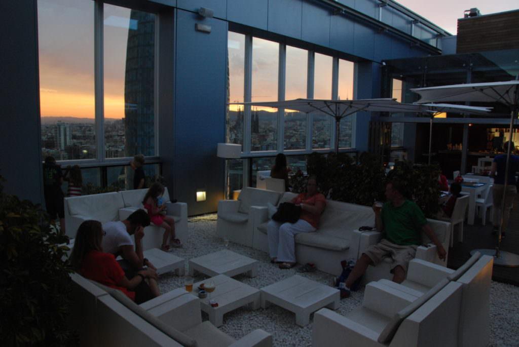 Familienhotel Barcelona mit Kindern - unser Ausblick über die Stadt!