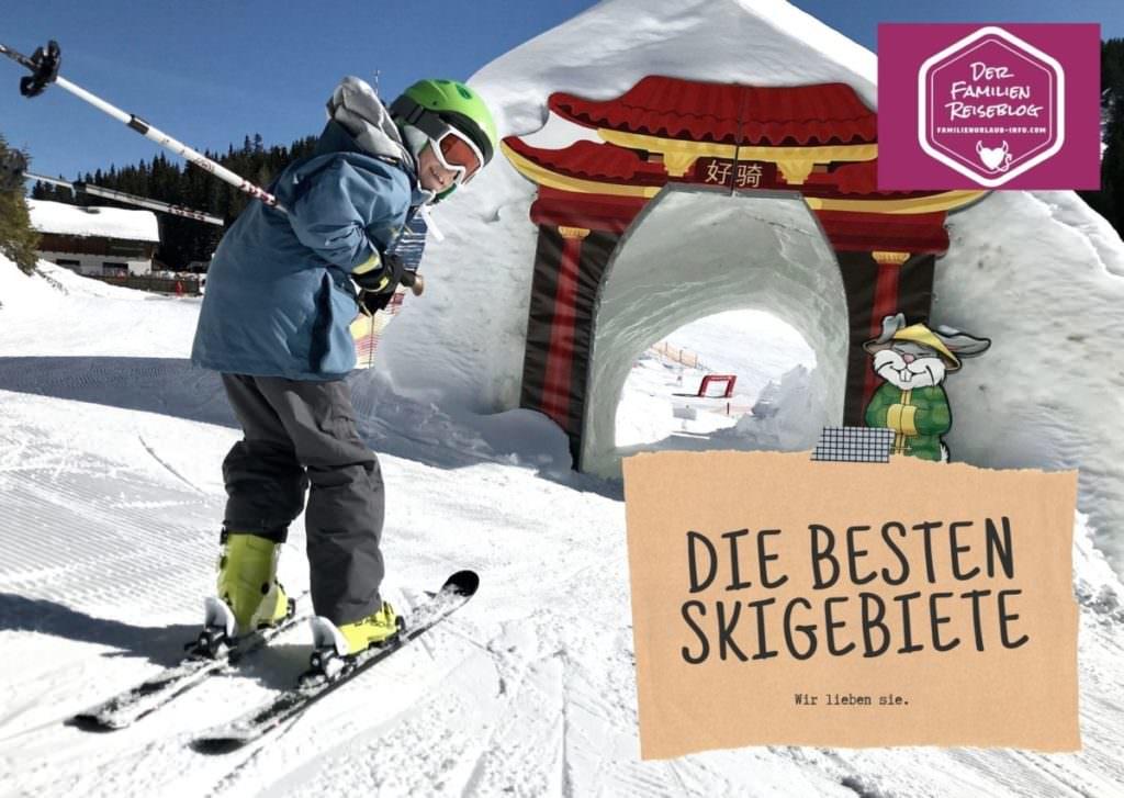 Familienurlaub im Winter - hier sind echt gute Skigebiete für Kinder