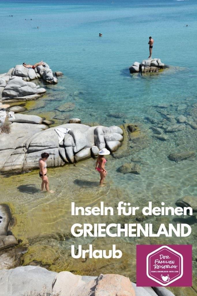 Familienurlaub Griechenland Inseln - merk dir diesen Pin für deinen nächsten Urlaub!