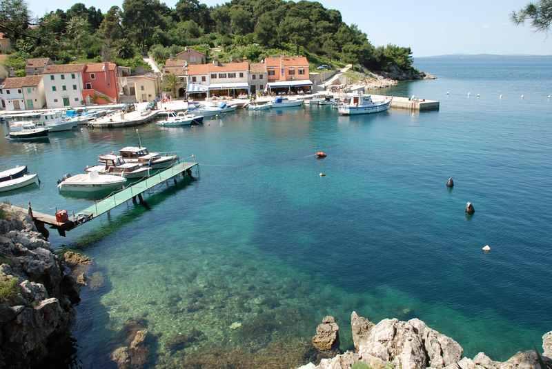 Familienurlaub Kroatien - kleine Buchten, klares Wasser