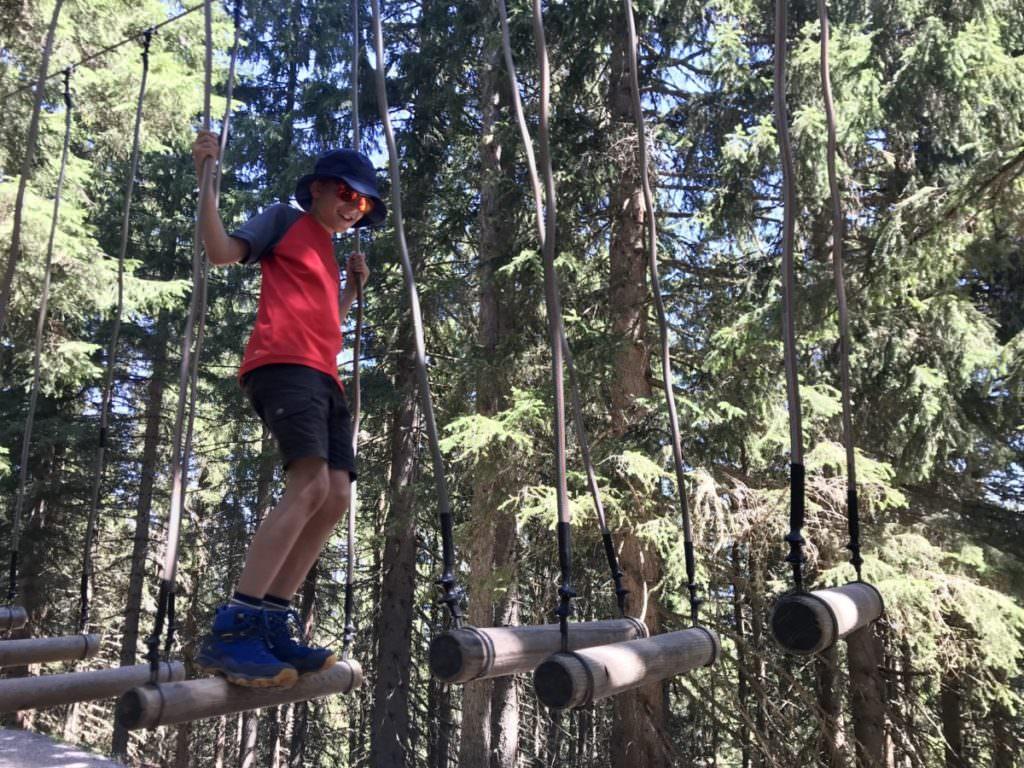 Familienurlaub Salzburger Land - Ausflug auf der Schmittenhöhe mit Kindern