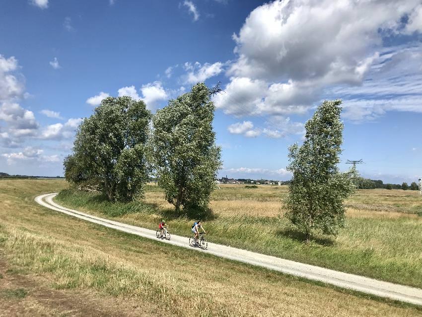 Familienurlaub Trassenheide:  Toll fanden wir die Radwege von Trassenheide über die Insel Usedom