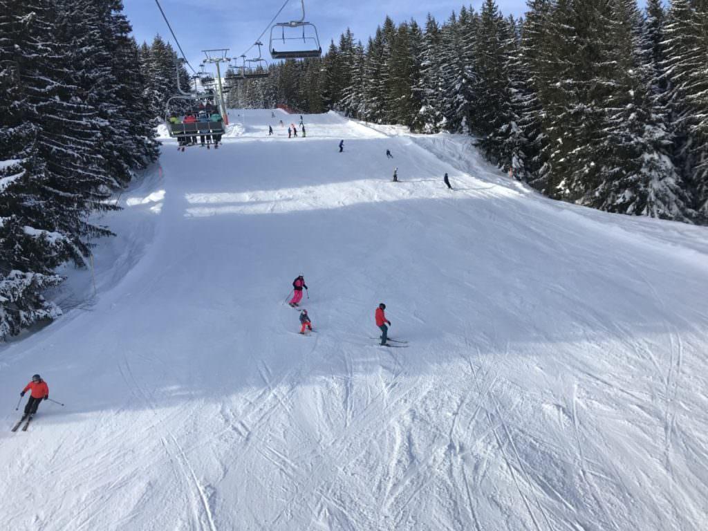 Golm Skigebiet im Montafon - breite Skigebiete und genügend Platz für große Kurven