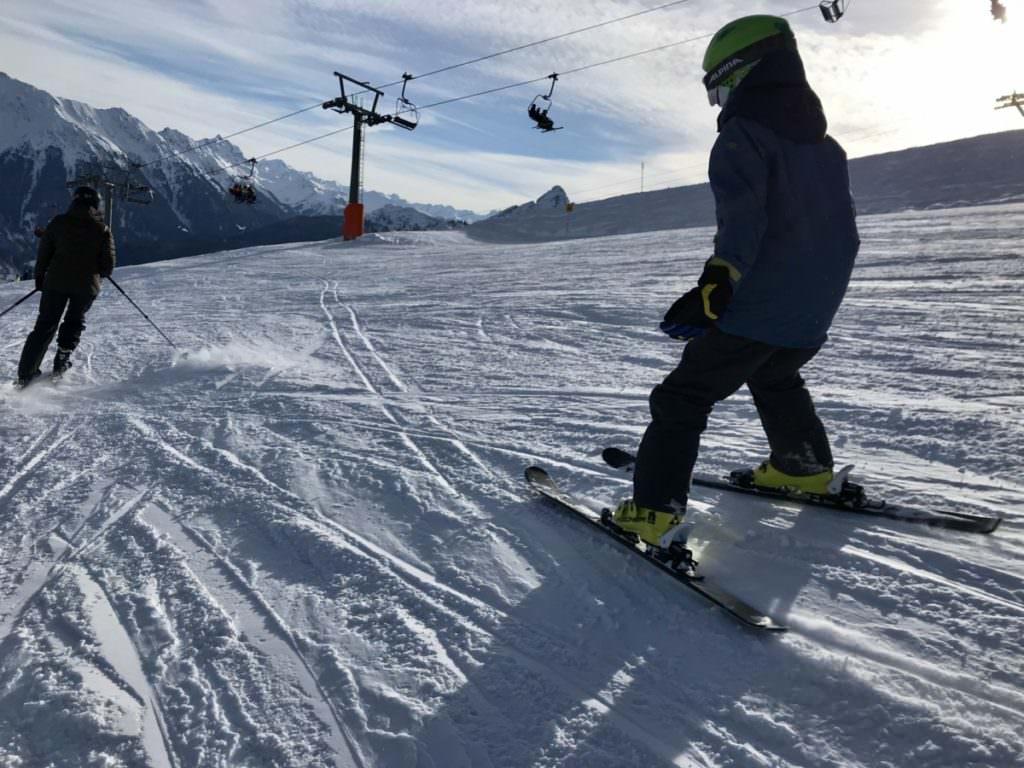 Golm Skigebiet in Vorarlberg für Kinder
