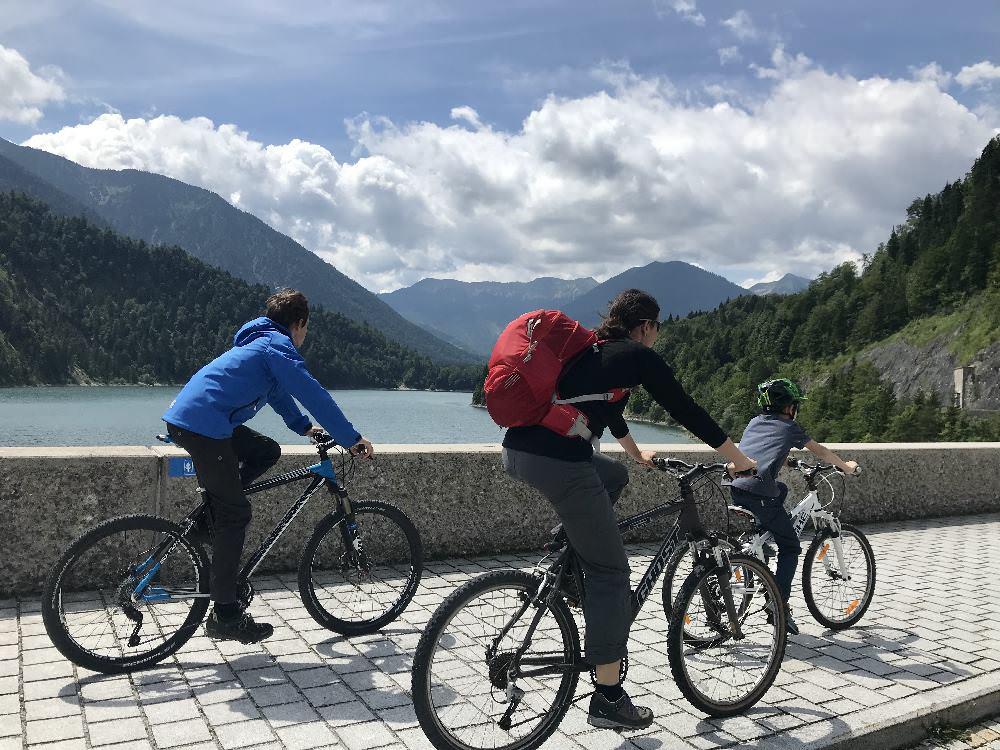 Isarradweg - Radreise mit Kindern in Deutschland