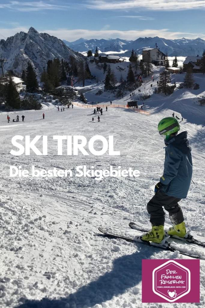 Kinderskigebiet Tirol - das Skigbiet Rofan