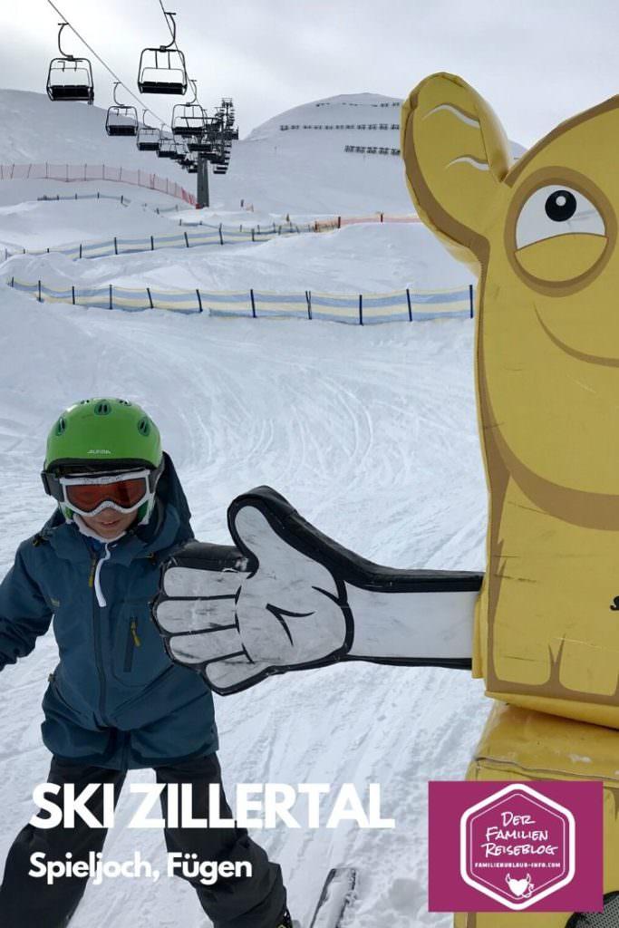 Kinderskigebiet Tirol - das Skigebiet Spieljoch in Fügen, Zillertal
