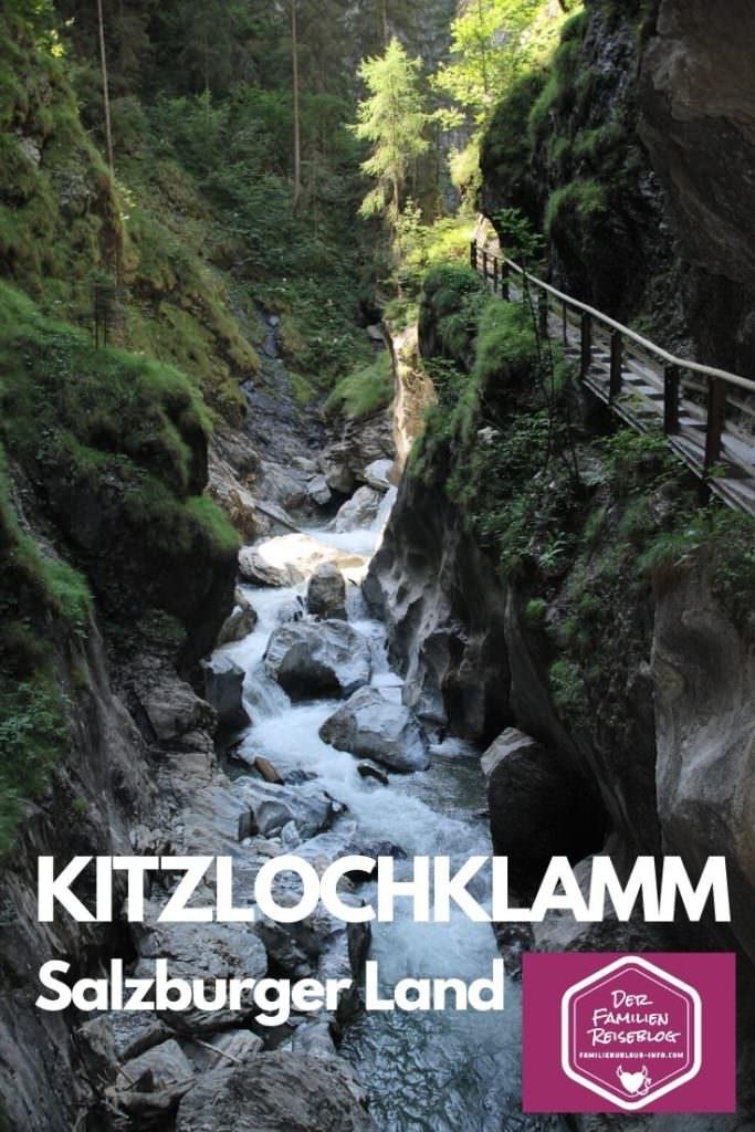 Kitzlochklamm Taxenbach merken - für deine nächste Wanderung durch eine Klamm im Salzburger Land