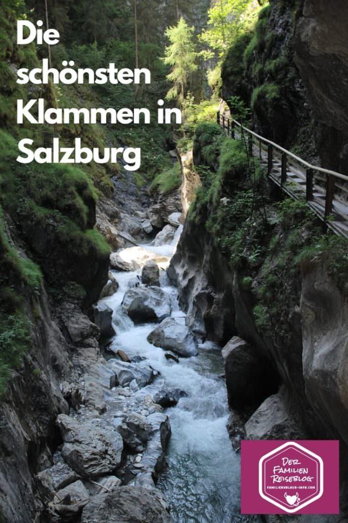 Das ist die Kitzlochklamm Taxenbach