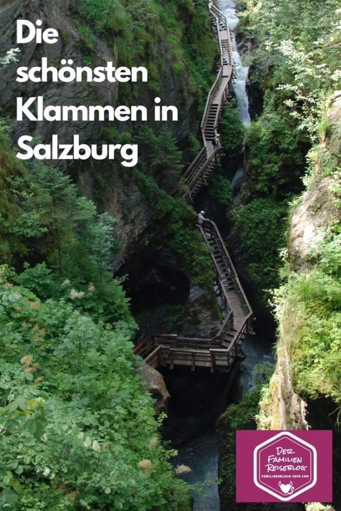 Klamm Salzburger Land: Die Sigmund Thun Klamm in Kaprun