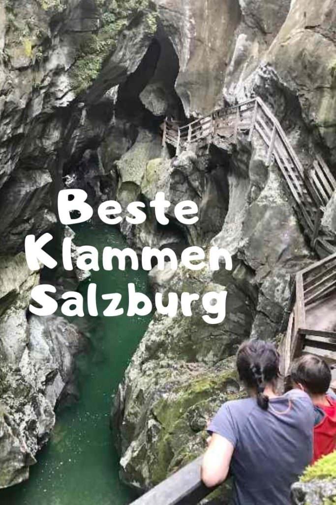Die schönsten Klammen im Salzburger Land